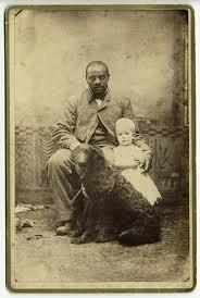black man white child