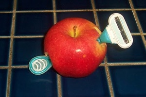 razor blade apple