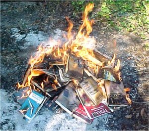 book burning