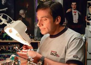 steve carell painting figurines