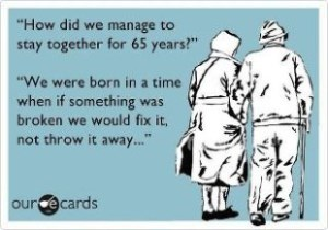 marriage good old days