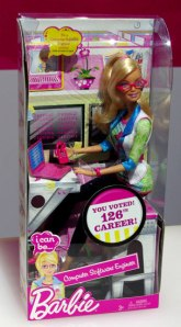 computer software engineer barbie